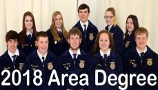 10 Chillicothe Students receive Area FFA Degree