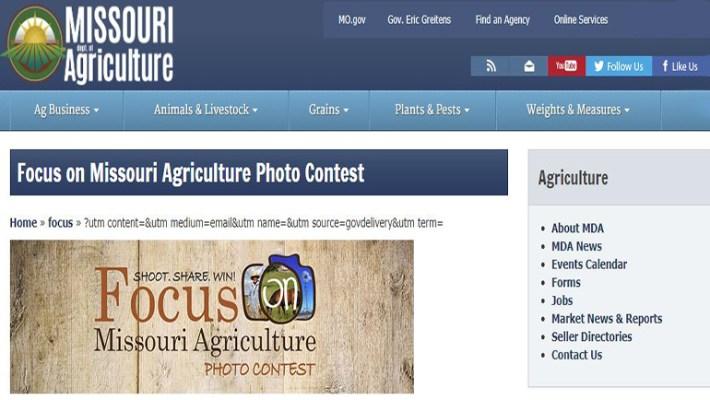 Missouri Agriculture Photo Contest