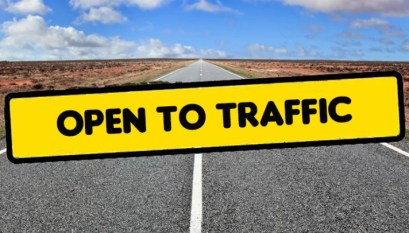 Highway 65 south of Carrollton and roadway to Waverly now open to