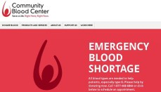 Emergency Blood Shortage