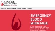 Emergency Blood Shortage