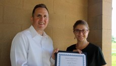 Janilla Cranmer Employee of the quarter