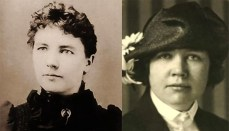 Laura Ingalls Wilder (left), Rose Wilder Lane (right) Wilder: Public Domain / Lane: Public Domain