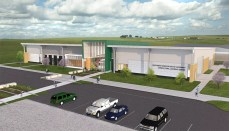 Ag Learning Center exterior perspective