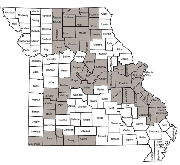 CWD Management Zone Map 2018
