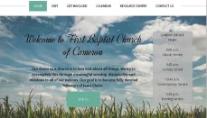 First Baptist Church Cameron V2