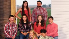 Back - Kaylee Lewis, Drake Bradley Middle - Hesston Campbell, Josie Reeter, Chloe Funk, Connor Keithley Front - Selby Miller, Gage Leamer