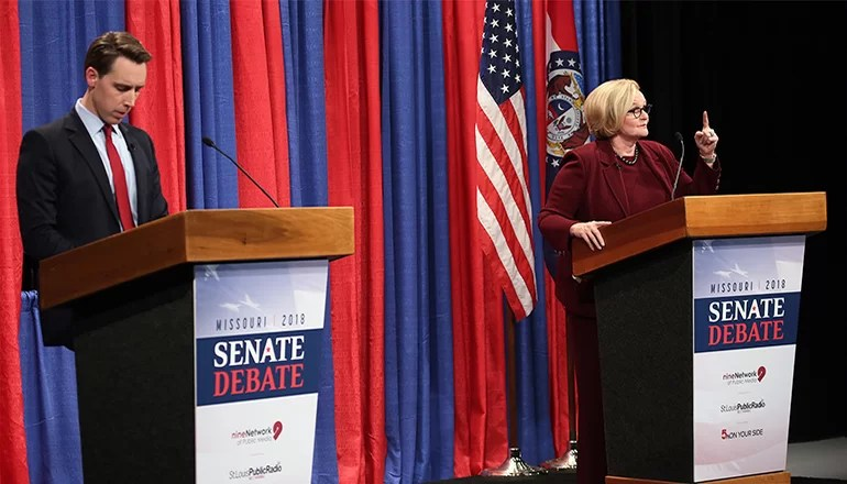 Full Debate: Attorney General Josh Hawley and Senator Claire McCaskill Debate in St. Louis
