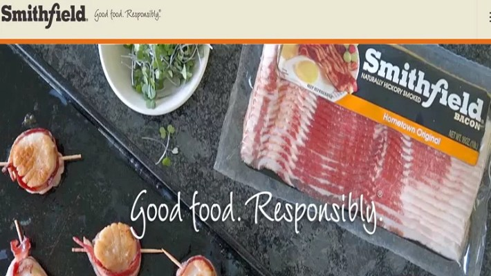 Smithfield Food Website