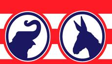 Democrat and Republican Parties