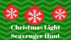 Christmas Light Scavenger Hunt