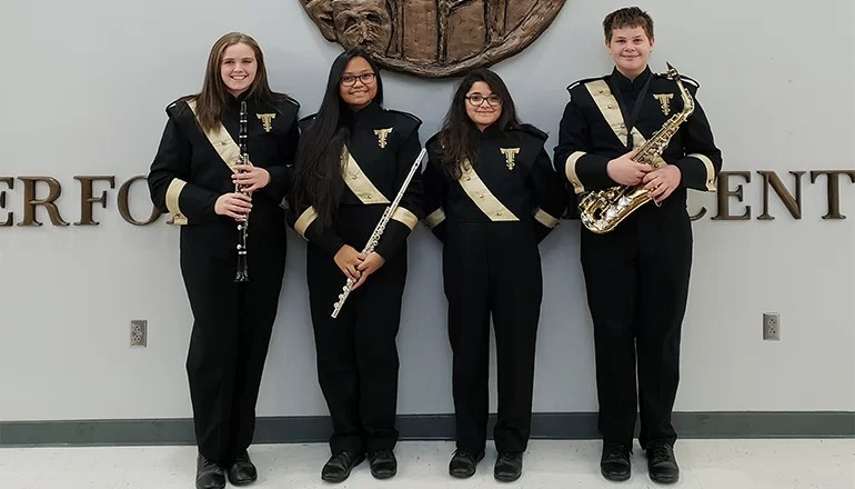 Trenton High School sends four to North Central Missouri Bandmasters Association Honor Band