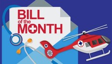 Air Ambulance Bill of the month