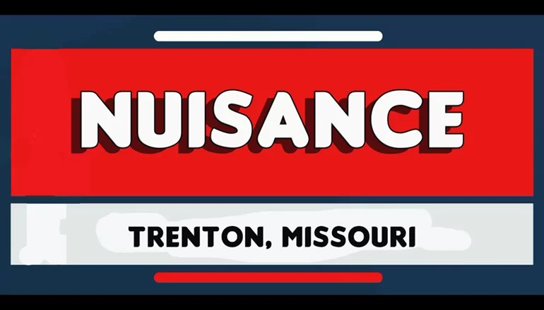 Trenton Police Department reports on nuisance incidents