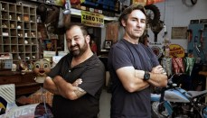 Mike and Frank from American Pickers
