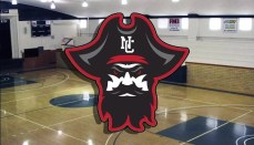 NCMC Basketball Court with Logo