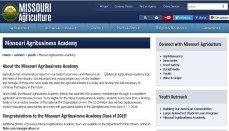 Missouri Department of Agriculture Agribusiness Academy