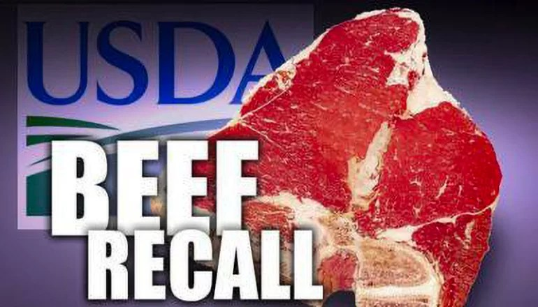 62,000 pounds of raw meat recalled, just days before Memorial Day