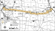 Grain Belt Express Route Map