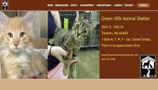 Green Hills Animal Shelter website