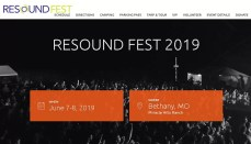 Resoundfest website 2019