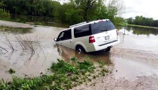 Kate Dougherty SUV washed away in fast water