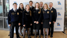 Trenton FFA Members attend Missouri FFA Public Speaking Academy