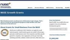 NASE Growth Grant website