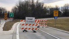 Ramp Closed (MoDOT)