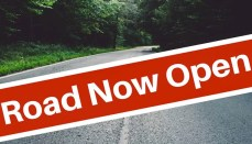 Road Now Open