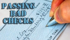 Passing Bad Checks Graphic