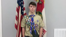 Payden McCullough earns Eagle Scout