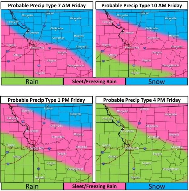 Storm Timing January 17, 2020