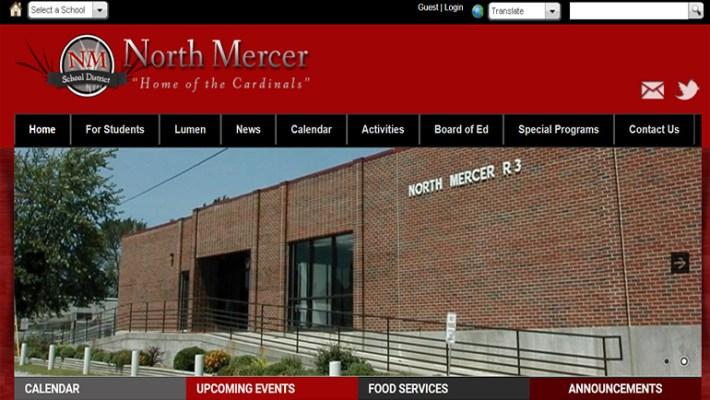 North Mercer School District Website V1