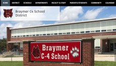 Braymer School District websitre