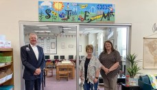 CCMH STEM Mural Dedication