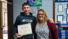Jaden Wyant Technical Student of the Month