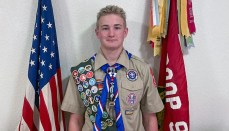 Photo of Eagle Scout Aiden Mcatee