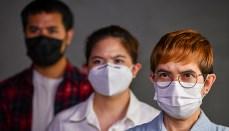 Coronavirus or COVID-19, people wearing masks