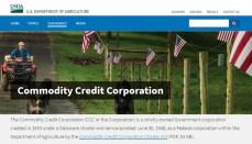 Commodity Credit Corporation (USDA) website