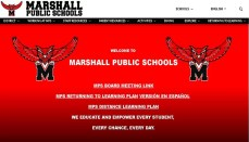 Marshall Missouri School District website