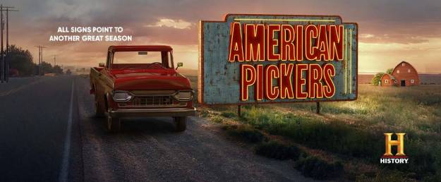 American Pickers on the History Channel