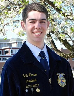 Hansen of Chillicothe Chapter named State FFA Vice President