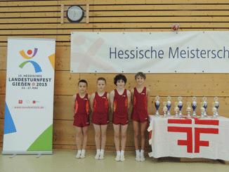 Die Schülermannschaft der KTV-Fulda