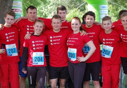 Team KTV Fulda beim Challenge Lauf