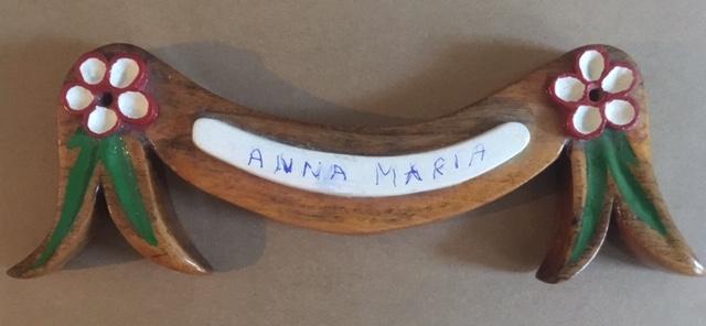 De naam Anna Maria