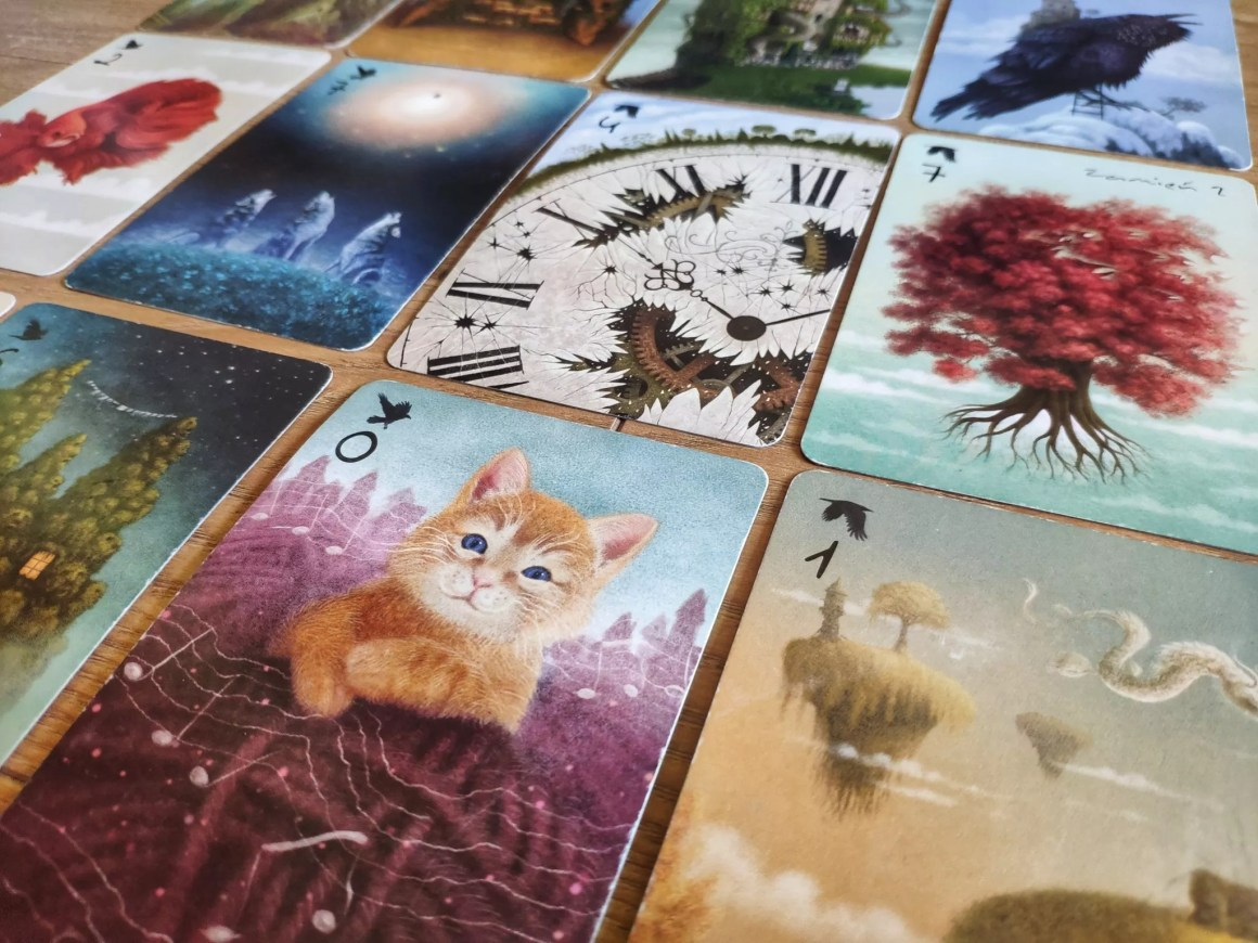 Karty z gry Sen