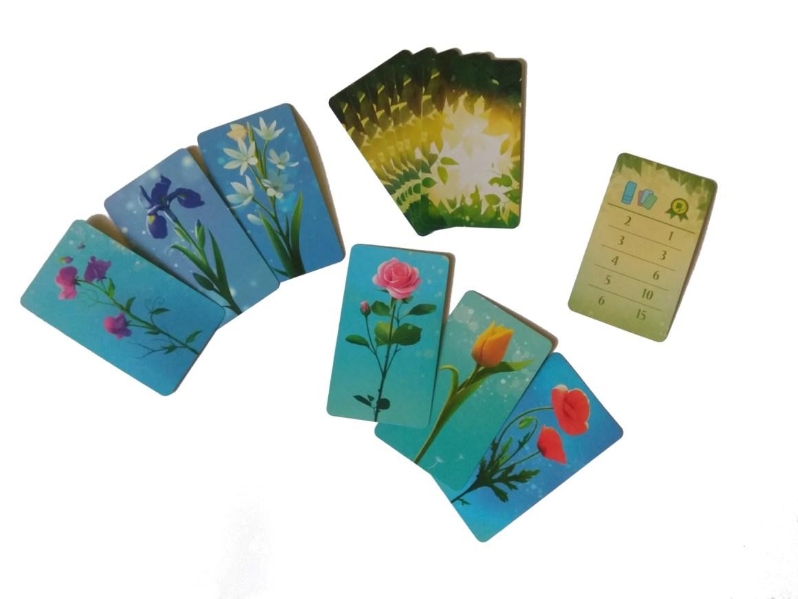 Karty do gry Kwiatki