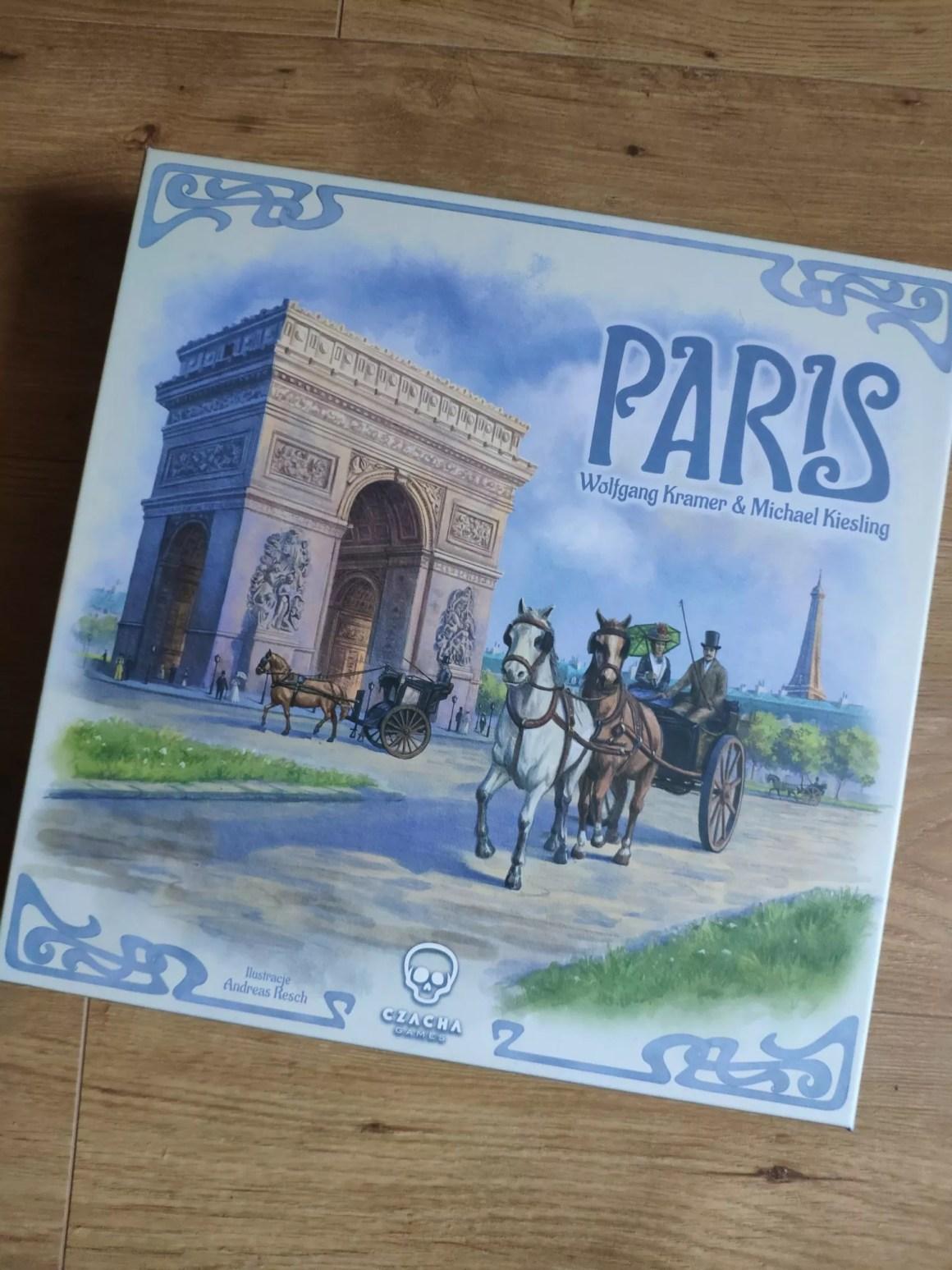 Pudełko gra Paris