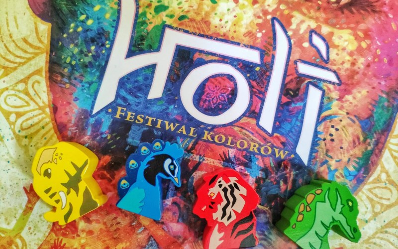 Holi festiwal kolorów